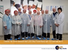 Besuch LSG Sky Food AG 60 plus