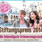 Stiftungspreis lebendige Stadt 2014