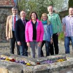 Ortsbeiratskandidaten für Alzey-Schafhausen (von links): Rainer Bohrmann, Frank Müller, Simone Stier, Brigitte Laaker, Dr.-Ing. Jörg Blaurock, Manuel Krenzer. - Foto: Privat