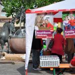 SPD-Infostand am Alzeyer Rossmarkt - Foto: SPD/mth