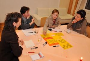"""Workshop I der """"Zukunftswerkstatt Alzey 2020″ in der """"Alten Post"""" – Foto: SPD/mth"""
