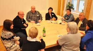 """Workshop III der """"Zukunftswerkstatt Alzey 2020″ in der """"Alten Post"""" – Foto: SPD/mth"""