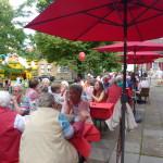 Sommerfest der SPD Alzey im Schlosspark Foto: spd/hs