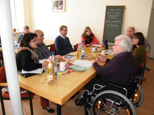 Besuch Club Behinderter u. ihrer Freunde